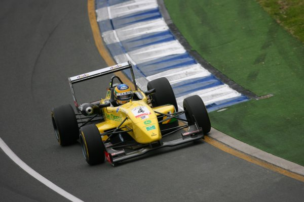 2006 Australian Grand Prix - F3 Support RaceAlbert Park, Melbourne, Australia.29th March - 2nd April 2006Bruno Senna in action.World Copyright: LAT Photographic. ref: Digital Image Only.