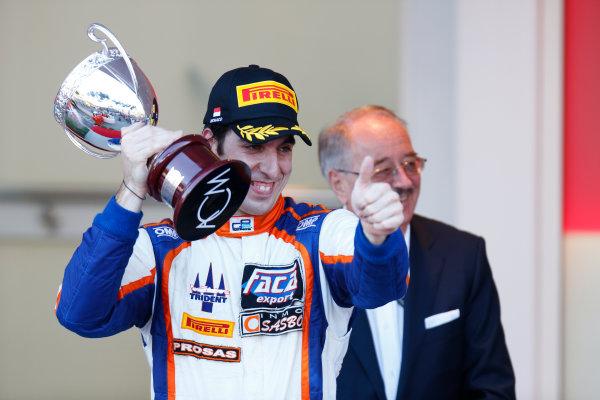 2014 GP2 Series Round 3 - Race 2 Monte Carlo, Monaco. Saturday 24 May 2014. Sergio Canamasas (CAN, Trident)  Photo: Alastair Staley/GP2 Series Media Service. ref: Digital Image _79P4017