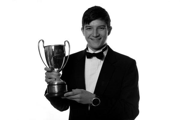 Sunday 2nd December 2012  2012 McLaren Autosport BRDC Young Driver of the Year Award winner Jake Dennis. World Copyright:Andrew Ferraro/  ref: Digital Image _79P2477