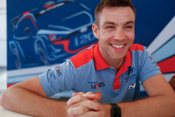 Hayden Paddon loves Rally d'Italia Sardinia, he scored his first podium on this event.