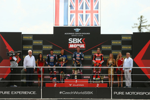 Michael van der Mark, Pata Yamaha, Alex Lowes, Pata Yamaha, Chaz Davies, Aruba.it Racing-Ducati SBK Team.