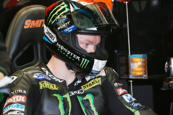 2015 MotoGP Championship.  British Grand Prix.  Silverstone, England. 28th - 30th August 2015.  Bradley Smith, Tech 3 Yamaha.  Ref: KW7_5516a. World copyright: Kevin Wood/LAT Photographic