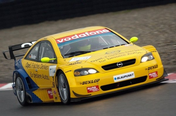 Manual Reuter (GER), Team Phoenix Astra Coupe, finished in fourth place.