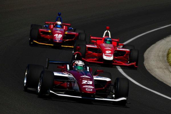 Victor Franzoni (R) Sao Paulo, Brazil Miami, FL Juncos Racing Mazda Motorsports