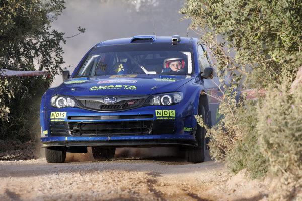 Round 04Rally Portugal 2- 5 of April 2009Mads Ostberg, Subaru WRC, ActionWorldwide Copyright: McKlein/LAT