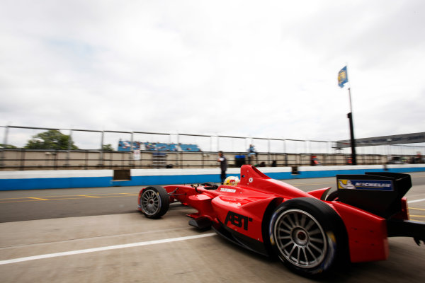 FIA Formula E Test Day, Donington Park, UK.  3rd - 4th July 2014.  Daniel Abt, Audi Sport Abt. Photo: Zak Mauger/FIA Formula E ref: Digital Image _P7T1034