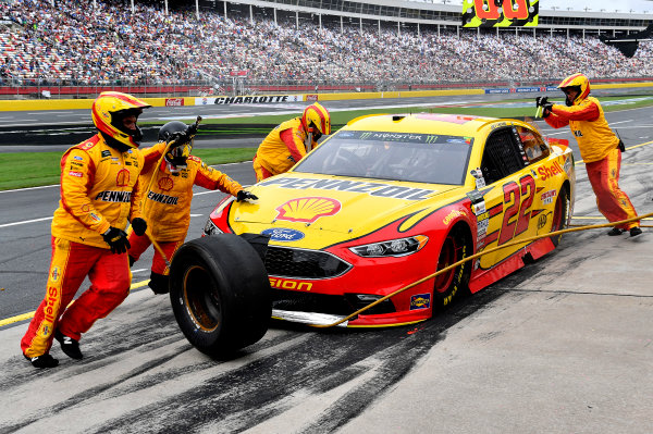 Monster Energy NASCAR Cup Series Bank of America 500 Charlotte Motor Speedway, Concord, NC Sunday 8 October 2017 Joey Logano, Team Penske, Shell Pennzoil Ford Fusion World Copyright: Rusty Jarrett LAT Images