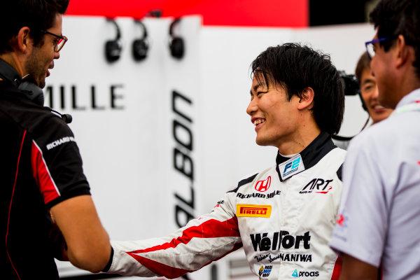 2017 FIA Formula 2 Round 9. Autodromo Nazionale di Monza, Monza, Italy. Friday 1 September 2017. Nobuharu Matsushita (JPN, ART Grand Prix).  Photo: Zak Mauger/FIA Formula 2. ref: Digital Image _54I6184