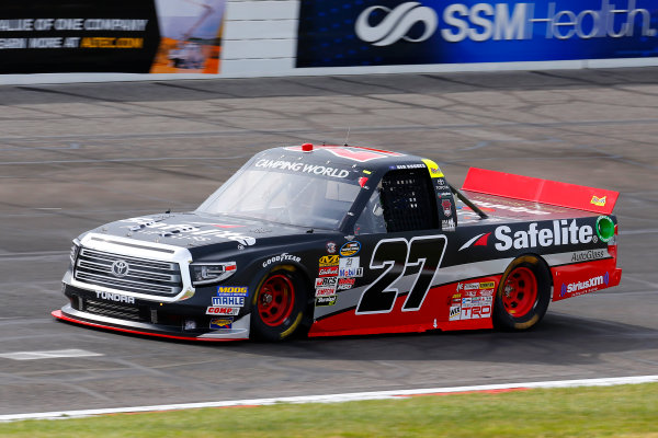 NASCAR Camping World Truck Series Drivin? For Linemen 200 Gateway Motorsports Park, Madison, IL USA Saturday 17 June 2017 Ben Rhodes, Safelite Auto Glass Toyota Tundra World Copyright: Russell LaBounty LAT Images