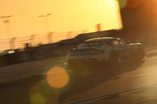 2017 Le Mans 24 Hours Circuit de la Sarthe, Le Mans, France. Thursday 15 June 2017 #99 Aston Martin Racing Aston Martin Vantage: Andrew Howard, Ross Gunn, Oliver Bryant  World Copyright: JEP/LAT Images