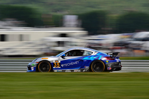 IMSA Continental Tire SportsCar Challenge Lime Rock Park 120 Lime Rock Park, Lakeville, CT USA Friday 21 July 2017 35, Porsche, Porsche Cayman GT4, GS, Russell Ward, Damien Faulkner World Copyright: Gavin Baker LAT Images