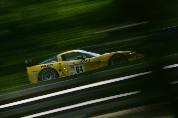 2007 Le Mans Test Day2nd and 3rd June 2007.Le Mans, France.Sunday Test DayOlivier Beretta (MCO)/Oliver Gavin (GBR)/Max Papis (ITA) (no 64 Corvette C6 R) action.World Copyright: Glenn Dunbar/LAT Photographic. ref: Digital Image YY8P5753