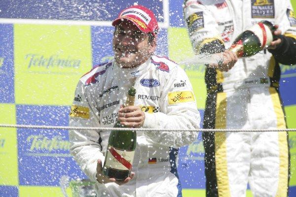 2007 GP2 Series. Round 2. Sunday RaceBarcelona, Spain. 13th May 2007. Timo Glock (GER, iSport International). World Copyright: Andrew Ferraro/GP2 Series Media Sevice  ref: Digital Image ZP9O7192