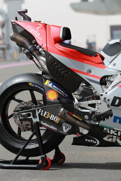 Ducati of Andrea Dovizioso, Ducati Team.