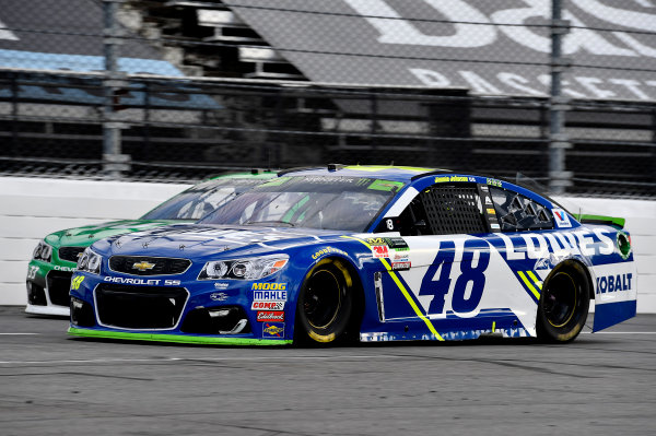 Monster Energy NASCAR Cup Series First Data 500 Martinsville Speedway, Martinsville VA USA Sunday 29 October 2017 Jimmie Johnson, Hendrick Motorsports, Lowe's Chevrolet SS World Copyright: Rusty Jarrett LAT Images