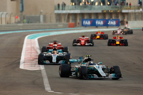 Yas Marina Circuit, Abu Dhabi, United Arab Emirates.