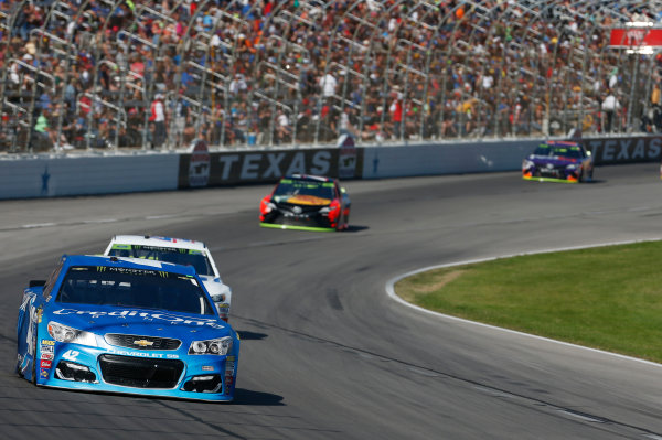 Monster Energy NASCAR Cup Series AAA Texas 500 Texas Motor Speedway Fort Worth, TX USA Sunday 5 November 2017 Kyle Larson, Chip Ganassi Racing, Credit One Bank Chevrolet SS World Copyright: Matthew T. Thacker LAT Images