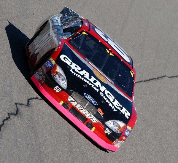 2002 NASCAR North Carolina,USA November 1-3, 2002 Pop Secret 400, North Carolina Speedway-Greg Biffle at speed during the BGN event,-Robt LeSieur2002LAT Photographic