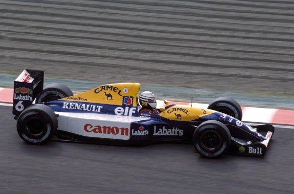 Riccardo Patrese, Williams FW14B Renault.