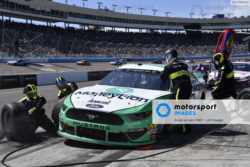 #12: Ryan Blaney, Team Penske, Ford Mustang MoneyLion