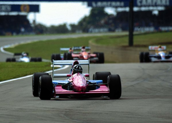 1992 British Grand Prix.Silverstone, England.10-12 July 1992.Damon Hill (Brabham BT60B Judd) on his debut.World Copyright - LAT Photographic