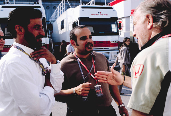 2002 Italian Grand PrixMonza, Italy. 14th - 16th September 2002David Richards, British American RacingWorld Copyright - LAT Photographicref: 35mm Transparency 02_ITA_03