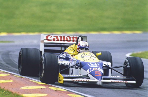 Nigel Mansell, Williams FW11 Honda.