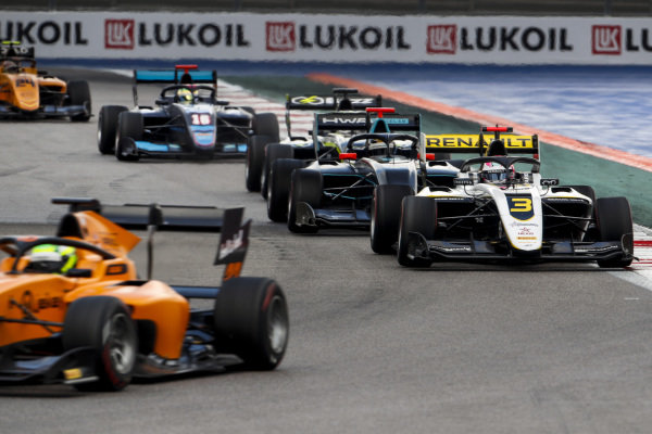 SOCHI AUTODROM, RUSSIAN FEDERATION - SEPTEMBER 28: Christian Lundgaard (DNK, ART Grand Prix) during the Sochi at Sochi Autodrom on September 28, 2019 in Sochi Autodrom, Russian Federation. (Photo by Carl Bingham / LAT Images / FIA F3 Championship)
