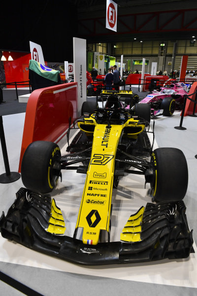 A Renault on the F1 Racing Stand.