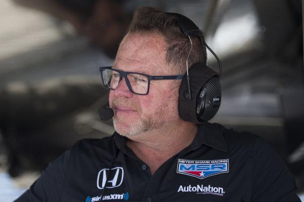 Team co-owner Mike Shank, Meyer Shank Racing with Arrow SPM Honda