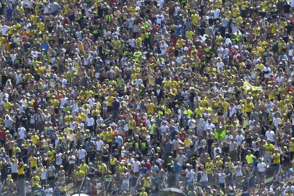 Crowds.