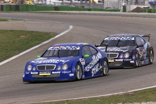 2001 DTM TestingHockenheim, Germany. 20th March 2001.MercedesWorld Copyright: LAT Photographicref: 5 mb Digital Image