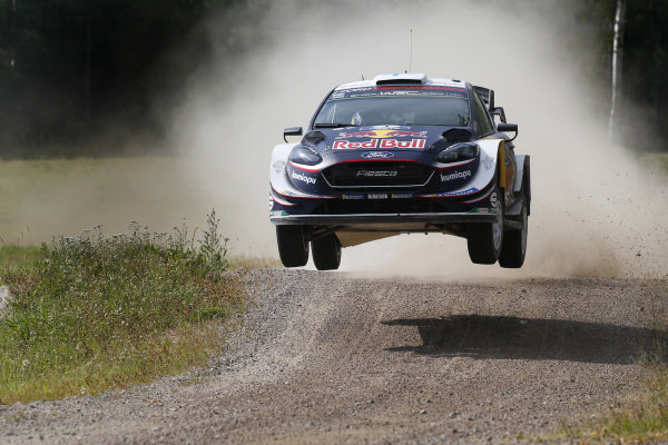 Teemu Suninen puts in a strong performance on Rally Finland