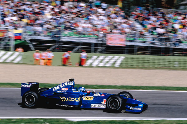 2000 San Marino Grand Prix.Imola, Italy. 7-9 April 2000.Jean Alesi (Prost AP03 Peugeot).Ref-2K SM 73.World Copyright - Gavin Lawrence/LAT Photographic