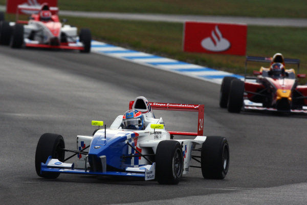 Jack Harvey (GBR) Fortec Motorsports. Formula BMW Europe, Rds 7 & 8, Hockenheim, Germany, 23-25 July 2010.