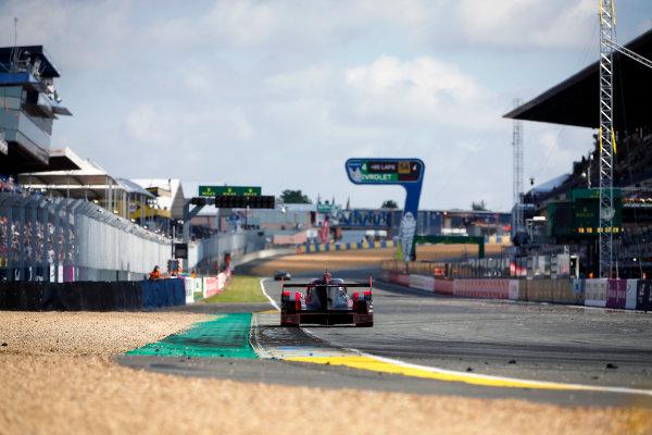 2016 Le Mans 24 Hours. Circuit de la Sarthe, Le Mans, France. Audi Sport Team Joest / Audi R18 - Marcel Fassler (CHE), Andre Lotterer (DEU), Benoit Treluyer (FRA).  Sunday 19 June 2016 Photo: Adam Warner / LAT ref: Digital Image _L5R7152