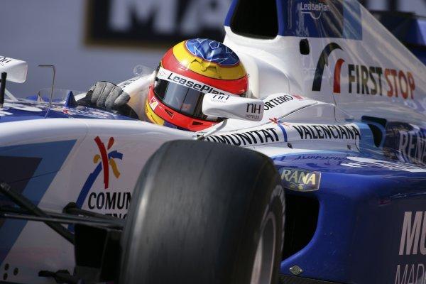 2006 GP2 Series. Round 5.Monte-Carlo, Monaco. 26th May 2006.Friday Qualifying.Felix Porteiro (ESP, Campos Racing). Action. World Copyright: Michael Cooper/GP2 Series Media Service.Ref: Digital Image Only.VI5L8389 jpg