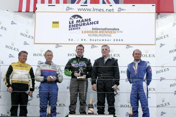 2005 Classic Endurance Racing,Nurburgring, Germany. 4th September, 2005,Podium, World Copyright: Jakob Ebrey/LAT Photographic