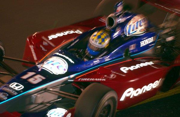 IRL IndyCar Suntrust Indy Challenge at Richmond International Raceway, Richmond,VA,USA 28 June,2003Night practice: Kenny Brack.World Copyright-F Peirce Williams 2003 LAT Photographicref: Digital Image Only