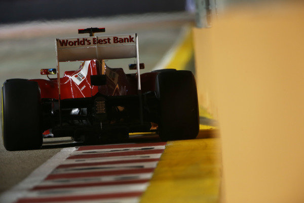 Marina Bay Circuit, Singapore23rd September 2012Fernando Alonso, Ferrari F2012. World Copyright: Andy Hone/LAT Photographicref: Digital Image HONZ0822