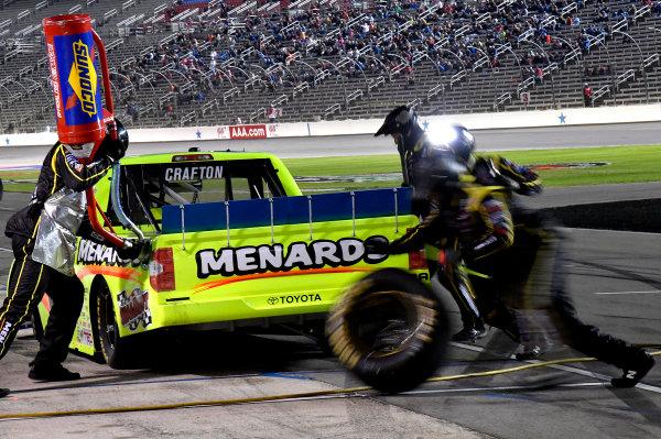 NASCAR Camping World Truck Series JAG Metals 350 Texas Motor Speedway Fort Worth, TX USA Saturday 4 November 2017 Matt Crafton, Ideal Door / Menards Toyota Tundra World Copyright: Rusty Jarrett LAT Images