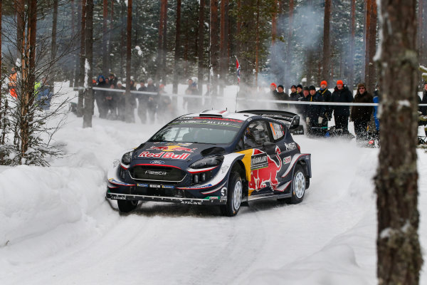 2018 FIA World Rally Championship, Round 02, Rally Sweden 2018, February 15-18, 2018. Sebastien Ogier, Ford, Action Worldwide Copyright: McKlein/LAT