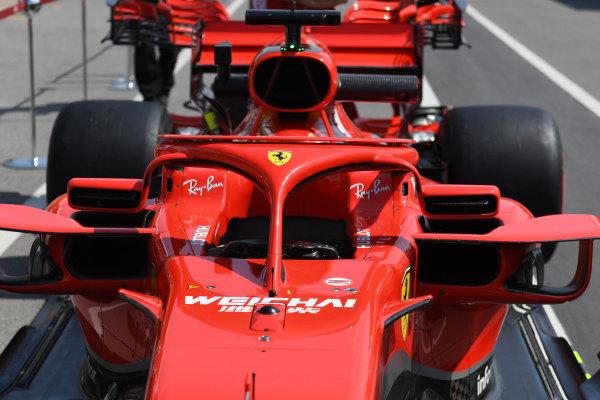 Ferrari SF-71H halo