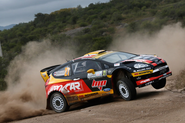 Martin Prokop (CZE) / Jan Tomanek (CZE) Ford Fiesta RS WRC. FIA World Rally Championship, Rd5, Rally Argentina, Preparations and Shakedown, Cordoba-Villa Carlos Paz, Argentina, 8 May 2014.