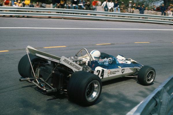 1971 Spanish Grand Prix.  Montjuich Park, Barcelona, Spain. 16-18th April 1971.  John Surtees, Surtees TS9 Ford, 11th position.  Ref: 71ESP65. World Copyright: LAT Photographic