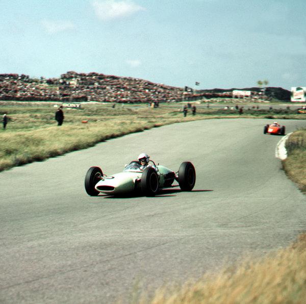 Zandvoort, Holland.21-23 May 1963.Jim Hall (Lotus 24 BRM).Ref-3/0965.World Copyright - LAT Photographic