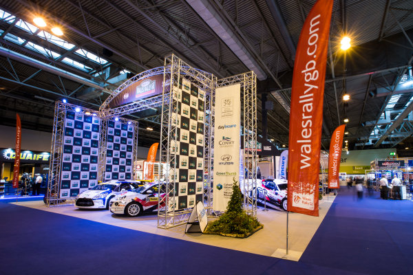 Autosport International Exhibition. National Exhibition Centre, Birmingham, UK. Friday 13 January 2017. Wales Rally GB Feature Photo: Sam Bloxham/LAT Photographic ref: Digital Image _SLB4762