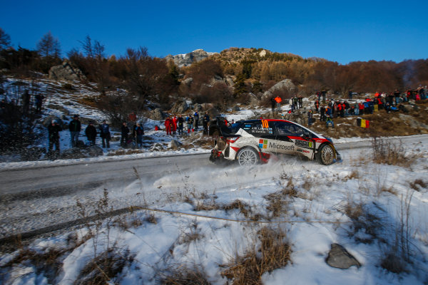 2017 FIA World Rally Championship, Round 01, Rally Monte Carlo, January 18-22, 2017, Jari Matti Latvala, Toyota, Action, Worldwide Copyright: McKlein/LAT