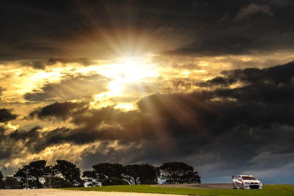 2017 Supercars Championship Round 3.  Phillip Island 500, Phillip Island, Victoria, Australia. Friday 21st April to Sunday 23rd April 2017. Nick Percat drives the #8 Team Clipsal Brad Jones Racing Commodore VF. World Copyright: Daniel Kalisz/LAT Images Ref: Digital Image 210417_VASCR3_DKIMG_1818.JPG