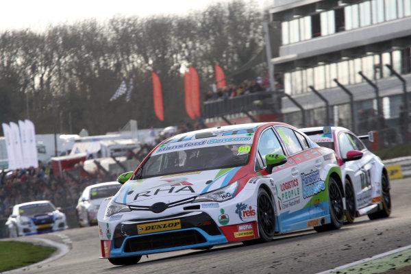 2016 British Touring Car Championship, Brands Hatch, 1st-2nd April 2017, Tom Ingram (GBR) Speedworks Motorsport Toyota Avensis World copyright. JEP/LAT Images